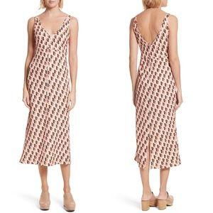 • Rachel Comey • Prim Jacquard Printed Midi Dress